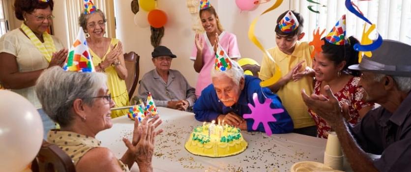 Casa de retiro, espacio para satisfacer las necesidades de socialización en el adulto mayor